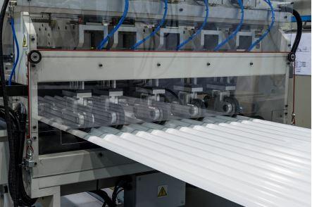 AMUT corrugated PVC sheet machinery