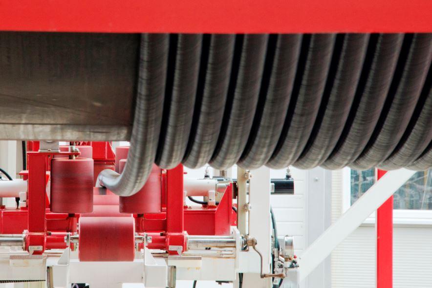 Magma carbon composite pipe m-pipe