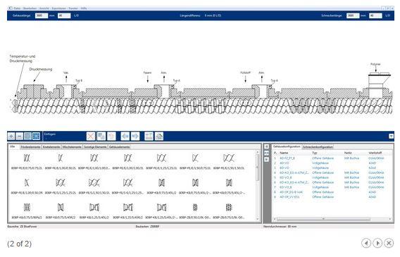 Extruder Screw Design Software