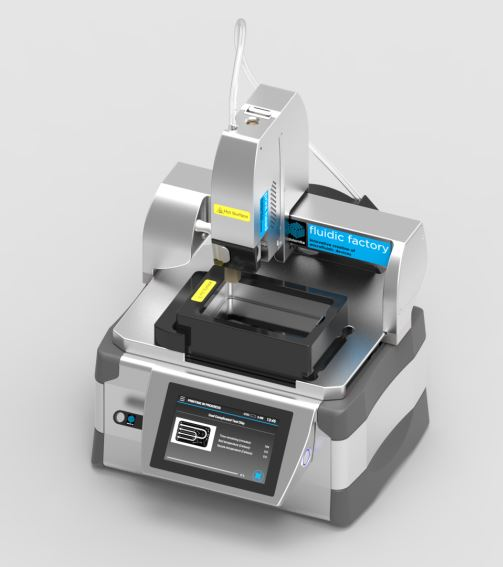 3D Printer uses Cyclic Olefin Copolymer (COC) for microfluidics