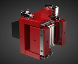 Ironjaw injection molding clamping booster