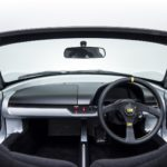 View from driver's seat with A-pillar